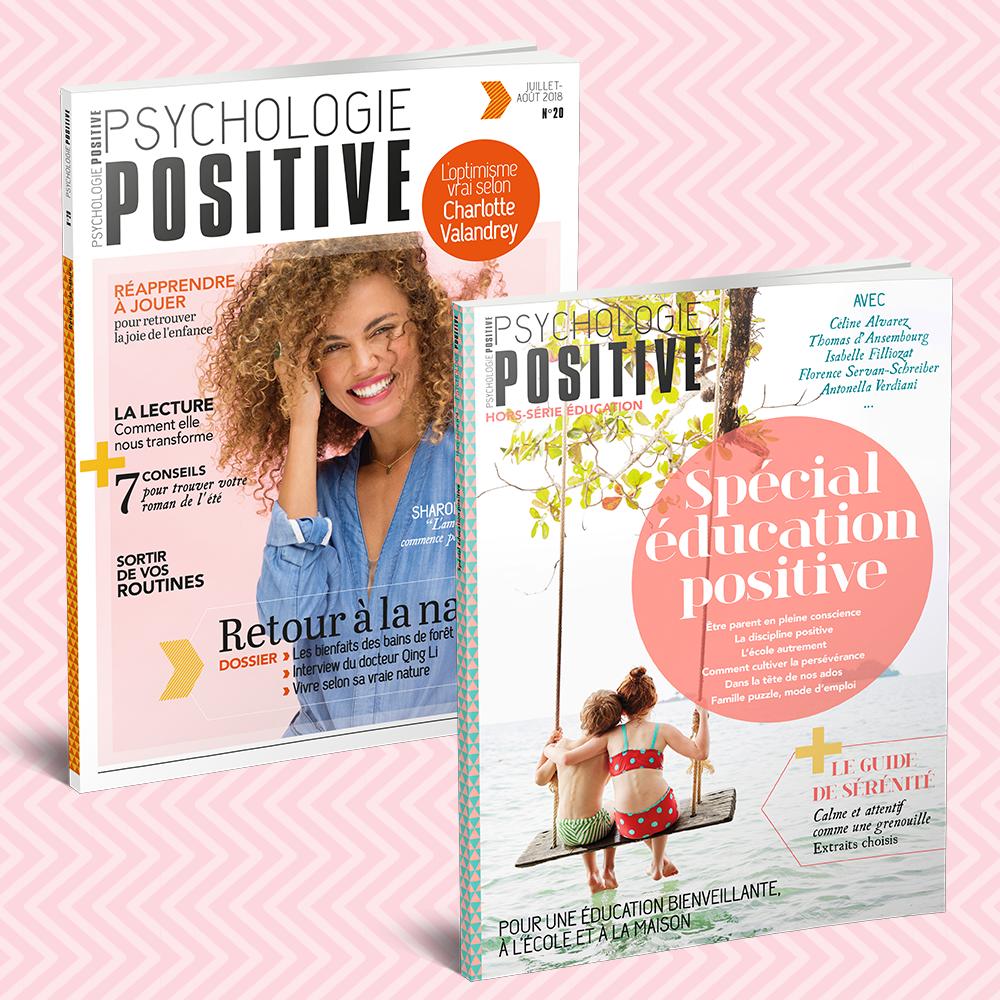 Offre d'abonnement 1 an - 6 numéros + le Hors-série Éducation Positive
